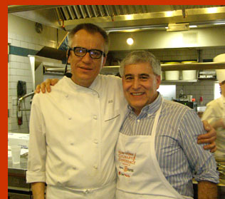 Chef Kurt Gutenbrunner and Edward Nesta - photo by Luxury Experience
