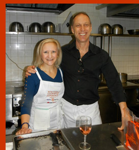 David Lebovitz and Debra Argen - photo by Luxury Experience