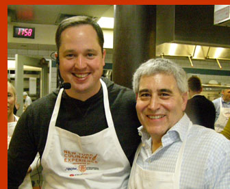 Chef Bryce Shuman and Edward Nesta - photo by Luxury Experience