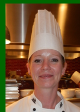 Chef Meredith Flavin - The Greenbrier Hotel - photo by Luxury Experience