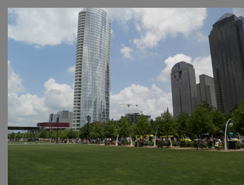 Klyde Warren Park Dallas Texas - photo by Luxury Experience