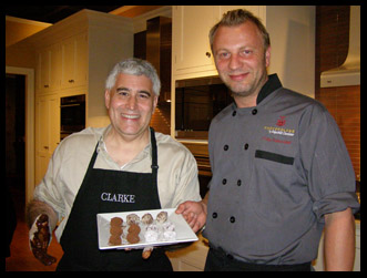 Edward Nesta and Chocolatier Fritz Knipschildt - Photo by Luxury Experience