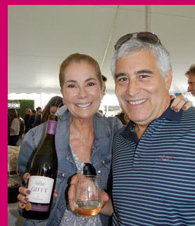 Kathie Lee Gifford and Edward F Nesta - Greenwich Wine + Food Festival - photo by Luxury Experience