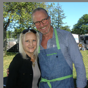 Michel Nischan and Debra C. Argen - Greenwich WINE + Food, CT - photo by Luxury Experience