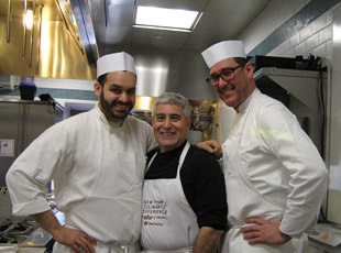 Sous Chef Matt Abdoo, Edward Nesta, and Executive Chef Mark Ladner - New York Culinary Experience, The International Culinary Center - Photo by Luxury Experience
