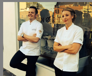 Chef Fredrik Andersson and Chef Frida Ronge - photo by Luxury Experience