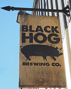 Black Hog Brewing, Oxford, CT - photo by Luxury Experience