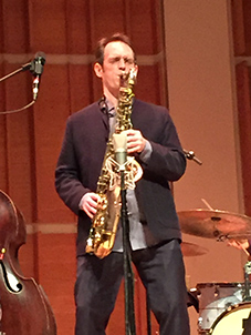 Patrick Zimmerli - on Saxophone - photo by Luxury Experience