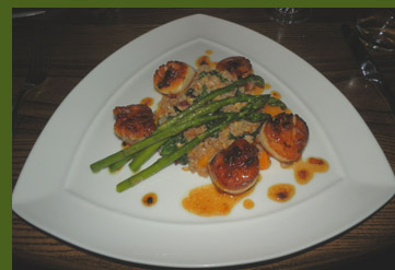 Scallops - Highfields Restaurant - Eagle Mountain House & Golf Course - Jackson, NH - photo by Luxury Experience