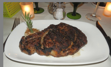 Prime Aged Rib Eye Steak - TBar NYC - Photo by Luxury Experience